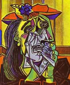 Pablo Picasso - The Weeping Woman, 1937